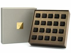 $175 for 20 pralinesLeave it to famed fashion designer Giorgio Armani to create these limited-edition pralines in a flashy, gold-plated box. Only 600 boxes of these delectable candies—made from pure Ecuadorian criollo, in four unique flavors—will be released beginning November 19. They can be purchased online and at Armani/Dolci stores worldwide (while they last).