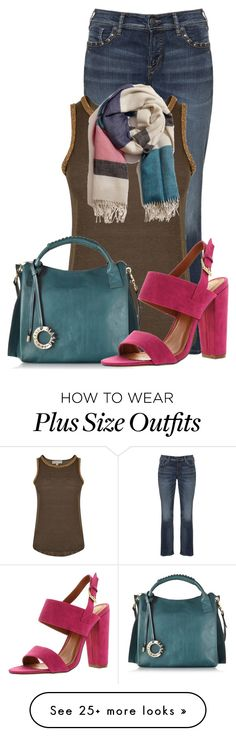 """""""Untitled #13642"""" by nanette-253 on Polyvore featuring Silver Jeans Co., MICHAEL Michael Kors, A Peace Treaty and Francesco Biasia"""