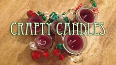 DIY Candles Gifts Holiday Crafts
