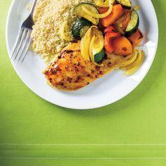 Poulet et légumes au cari 30 minutes | Ricardo
