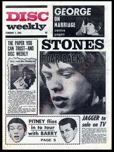 The Daily Telegraph, Uk Music, February 5, Music Magazines, Rolling Stones, The Rock, The Beatles, Nostalgia, Tours