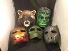 Marvel Masks – 5 Pieces Set – Rocket Raccoon / Hulk / Black Panther / Lizard +++ Rocket Raccoon, Black Panther, Hulk, Action Figures, Masks, Marvel, Lifestyle, Toys, Fictional Characters