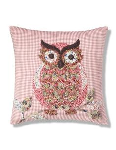 M&S Boho Owl Applique Cushion £25.00
