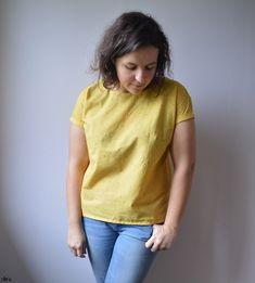 Trop-Top, Ivanne S. – clo's Couture Bb, Trop Top, Coton Bio, Sportswear, V Neck, T Shirts For Women, Tops, Fashion, Boss