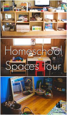 Homeschool Room Tour!  Our Playful Learning Spaces!