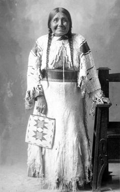 Such a beautiful woman (Nez Perce tribe)