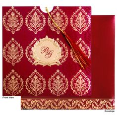Indian Wedding Cards Online |Scroll Cards |Indian Wedding Invitation |Wedding invites