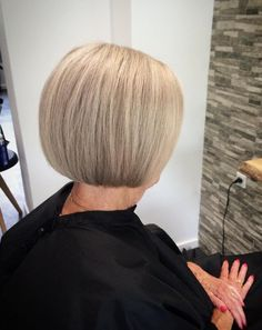 60 Best Hairstyles and Haircuts for Women Over 60 to Suit any Taste – Flowers By Faye 60 Best Hairstyles and Haircuts for Women Over 60 to Suit any Taste Classic Ash Blonde Bob Ash Blonde Bob, Beige Blonde Hair, Blonde Bobs, Gray Hair, Over 60 Hairstyles, Short Hairstyles For Women, Bob Hairstyles, Straight Hairstyles, Bob Haircuts