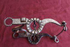 Vintage Fleming Silver Western Show Bit