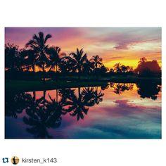 Lagoon Reflections by @kirsten_k143 #verovine #verobeach