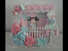 Shadow Box Card with Graphic 45 Papers - YouTube