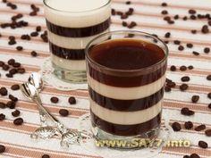 Желе «Кофе с молоком»