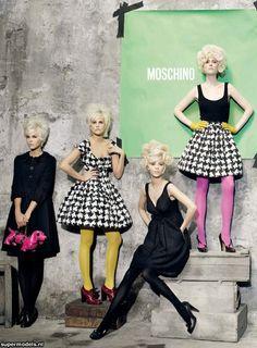 fashion editorial - Moschino