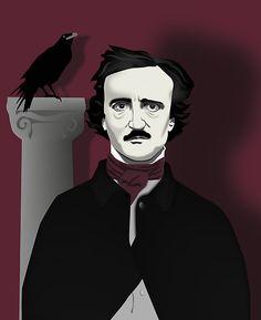 .Edgar and Raven by thren0dy