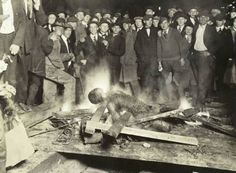 "Black man lynched and burned in Oklahoma during ""Red Summer"" 1919"
