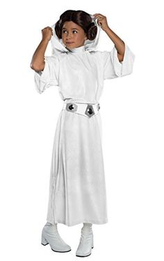 e13b4af3601 Rubies Costume Star Wars Classic Princess Leia Deluxe Child Costume -- Star  Wars is back and better than ever with tons of great options to choose from  for ...