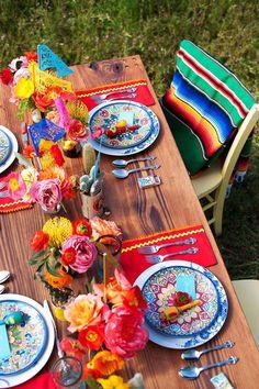 Il table decor tutto messicano - gratiocafe blog