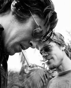 Benicio Del Toro, Brad Pitt