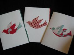 Peace doves love birds holiday greeting cards by KIMONOCARDS, $7.00
