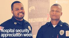 This week (Oct. 13-19) is Hospital Security Appreciation Week.  We have the best security staff and we're thankful for everything they do!