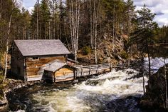 Oulanka National Park by Daniele Zanni, via Flickr Finland, National Parks, Cabin, House Styles, Places, Home Decor, Decoration Home, Room Decor, Cabins