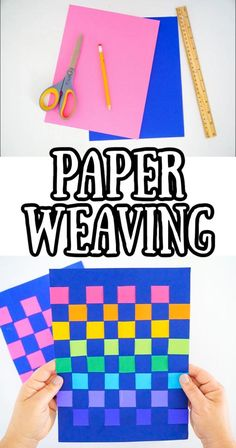 Paper Crafts For Kids, Easy Crafts For Kids, Kid Crafts, Arts And Crafts, Drawing For Kids, Painting For Kids, Outdoor Projects, Diy Projects, Paper Weaving