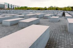 Memorial to the Murdered Jews of Europe in Berlin  free high-resolution photo about Abstract Architecture and Cityscape Travel Locations abstract architecture art berlin building city concrete europe german germany holocaust jewish jews landmark Memorial monument murdered museum place sky symbol tourism travel war world