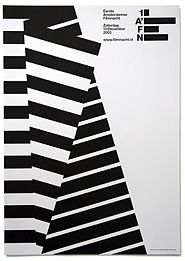 I liked the simplicity of this black and white stripe shape. The image even created 3-d feel.