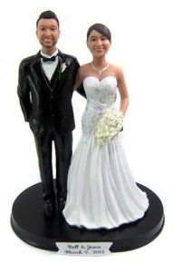 Arm In Wedding Cake Toppers Custom Made To Order
