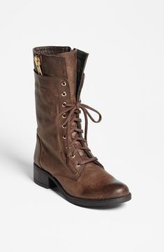 Steve Madden 'Leader' Boot Womens Brown Leather Size 7 M 7 M on shopstyle.com