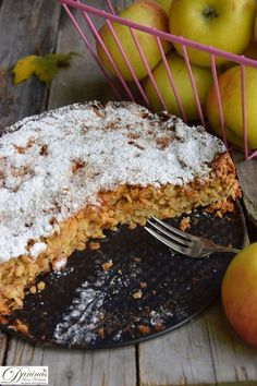 Delicious cake and tart recipes: apple oatmeal cake. The healthiest cake ever. Simple pastry recipe with detailed instructions Daninas Art Who … The Effective Pictures We Offer You About … Easy Pastry Recipes, Delicious Cake Recipes, Apple Pie Recipes, Oatmeal Recipes, Tart Recipes, Yummy Cakes, Dessert Recipes, Desserts, Simple Muffin Recipe
