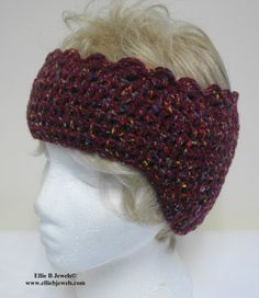 Free Crochet Ear Warmer Pattern | These are really warm and very cosy to wear. I will be making them in ...