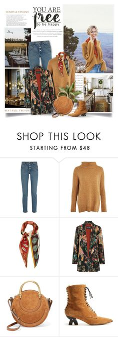 """""""You're Free To Be Happy"""" by thewondersoffashion ❤ liked on Polyvore featuring Lee Broom, Prada, Balenciaga, Topshop, Valentino, Etro, Chloé, Loewe and Diego Percossi Papi"""