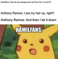 A Surprised Pikachu meme. Caption your own images or memes with our Meme Generator. Anthony Ramos, Hamilton Lin Manuel Miranda, Hamilton Fanart, Nerd, Hamilton Musical, Alexander Hamilton, Manga, In The Heights, Funny Pins