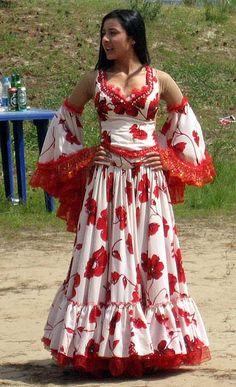 I think my Gitana would LOVE a dress like this.