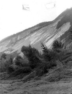L'angolo della Geologia: Vajont: foto e sezioni geologiche