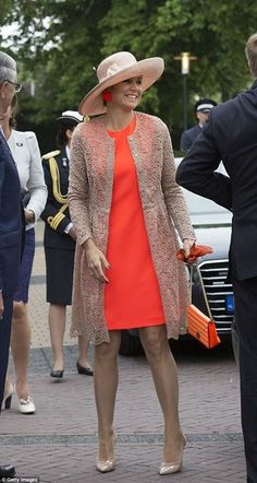 Pin for Later  The World s Most Powerful Women Wear This Dress Style For  Every Occasion You Can Always Add a Lacy Layer Like Queen Maxima Did 70ca5d92d4b6