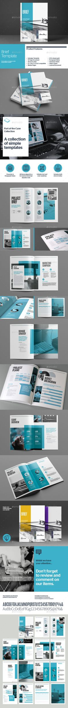 Brief Project Proposal InDesign Template v2