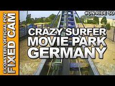 Vidéo embarquée du roller coaster Crazy Surfer situé dans le parc d'attraction Movie Park Germany en Allemagne. N'hésitez pas à venir découvrir sur notre channel Youtube, nos plus de 200 vidéos On-Ride : http://www.youtube.com/ecoasters !!