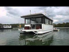 48 Custom House Boat - YouTube