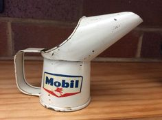 Mobil Gill oil pourer 1964. The smallest of the oil pourers.