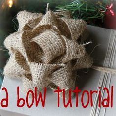 making bows... Might need this!