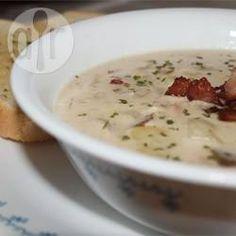 Soupe de fruits de mer de Nouvelle-Angleterre facile @ allrecipes.fr