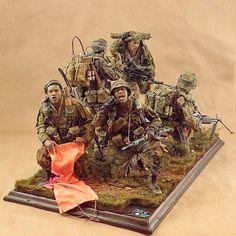 Soul Patrol-LRRPs-Extraction 1/6 diorama #miniatura #miniature #maqueta #maquette #modelismo #modelism #modelisme #miniatur #scalemodel #scalemodelkit #usinadoskits #udk #hobby #diorama #passatempo #tiempolibre #ミニチュア #моделизм #war #guerra #guerre #bataille #vietnam #vietnã
