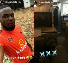 See the Big Snake Axed Sunderland Striker Victor Anichebe shared on Instagram while jogging at his hometown  See the Big Snake Axed Sunderland Striker Victor Anichebe shared on Instagram while jogging at his hometown  Super Eagles of Nigeria and ex-Sunderland striker Victor Anichebe got an early morning shock when he encountered a baby python while jogging at his hometown in Nigeria recently. See photos below...  The 29-year-old striker shared shots of the reptile in amazement. There was…