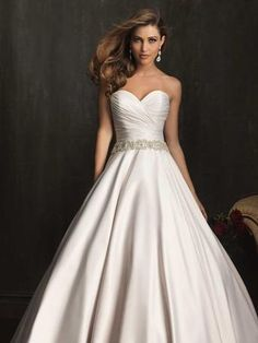 Allure Bridal Gowns Wedding Dresses Photos on WeddingWire Wedding Dresses 2014, Wedding Attire, Bridal Dresses, Wedding Gowns, Bridesmaid Dresses, Allure Bridals, Ball Dresses, Ball Gowns, Dresses Uk