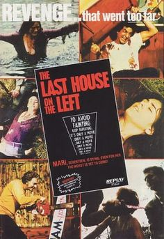 The Last House on the Left remake sucked but the original made me feel so icky inside..that man terrifies me to this day!