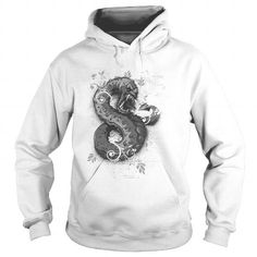 Awesome Tee Nasty Evil Worm Face Ugly Snake - Illustration - Hoodies Shirts & Tees