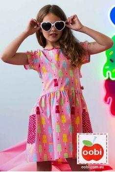 df856e3a753b 55 Best Pink Girls Dresses and Clothes images in 2019