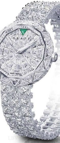 Rosamaria G Frangini | High Whatch Jewellery | Graff Diamond* Watch